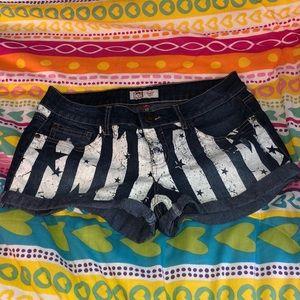 Americana Jean Shorts